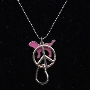 Victoria's Secret PINK Charm Necklace